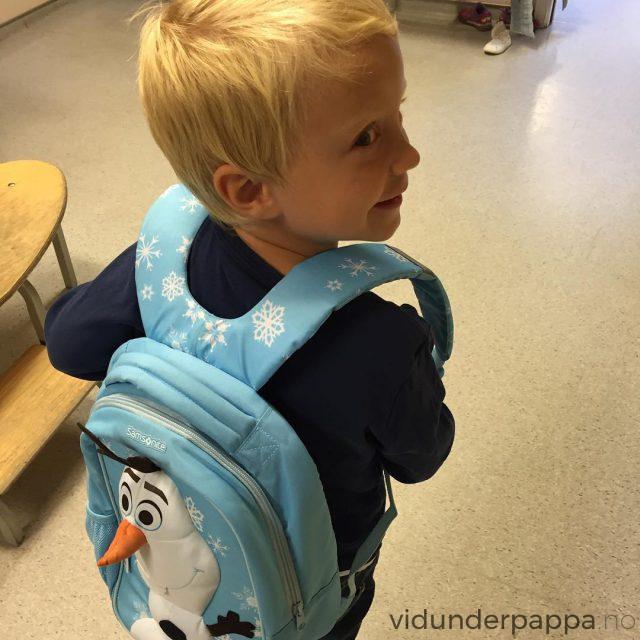 Minsten begynte stolt p barnehagens siste r denne uken! Medhellip